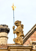 Grotesque , Charlecote House, June 2017