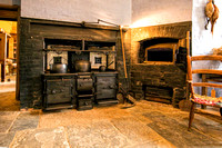 Victorian Kitchen Range and Bread Oven, Charlecote House, Warwickshire.
