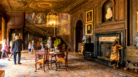 The Entrance Hall, Hanbury Hall, Worcestershire.