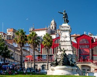 Prince Henry the Navigator Statue, Porto, Portugal, September 2018