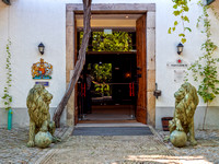 Taylor's Port House Entrance , Gaia, Portugal, September 2018