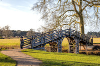 The Chinese Bridge. Croome Park, Worcestershire December 2016
