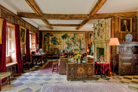 One of the living rooms, Baddesley Clinton Manor House, July 2017