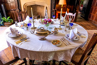 Dining Table, Baddesley Clinton Manor House, July 2017