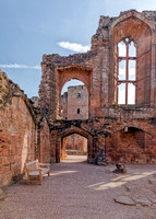 The Great Hall, Kenilworth Castle, Warwickshire.