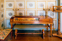 Square Piano, Croft Castle, Herefordshire, July 2017