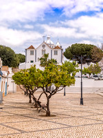The Church of Our Lady of the Martyrs and Town Square, Castro Marim, Portugal, May 2018